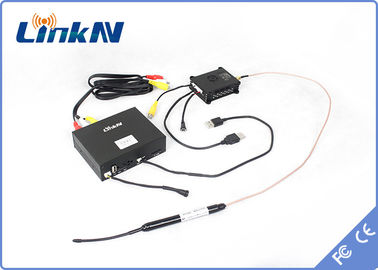 High Definition COFDM Transmitter NLOS 2KM LOS 20KM With Digital AES 256 Encryption